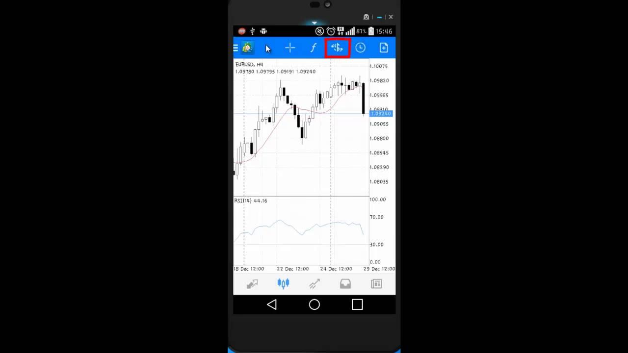 21.Ders: Android OS Telefonlarda MetaTrader 4