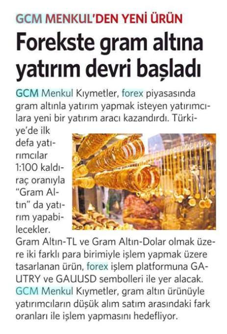 Gcm forex minimum para yatırma